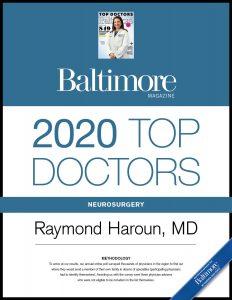 Baltimore Top Doctors, 2020